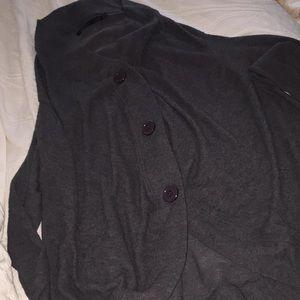 Grey cardigan John Eshaya
